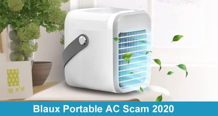 Blaux Portable AC Scam 2020