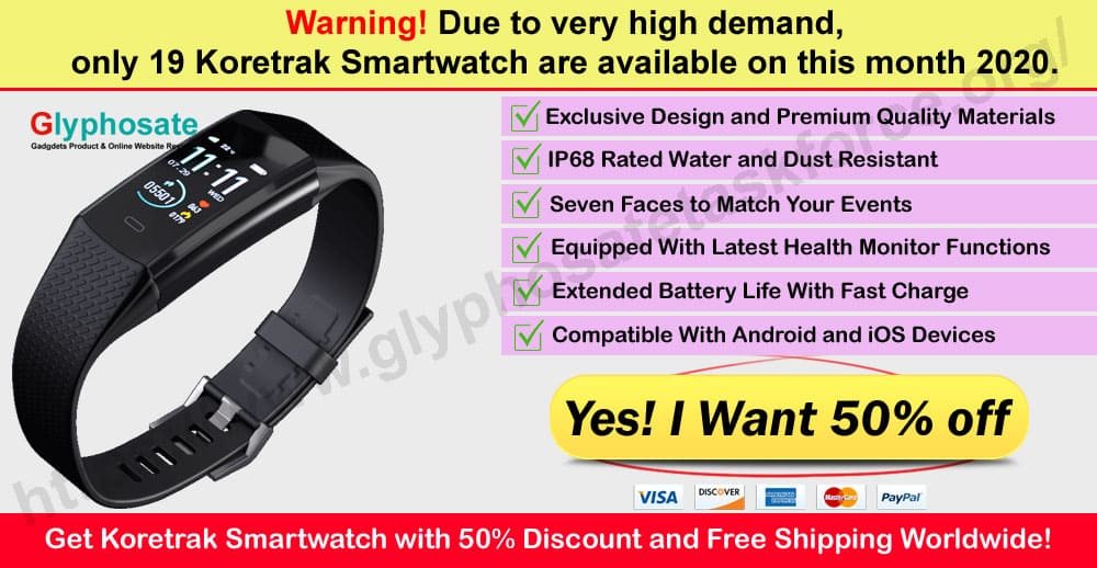 Koretrak Smartwatch Review Where to Buy on Glypho