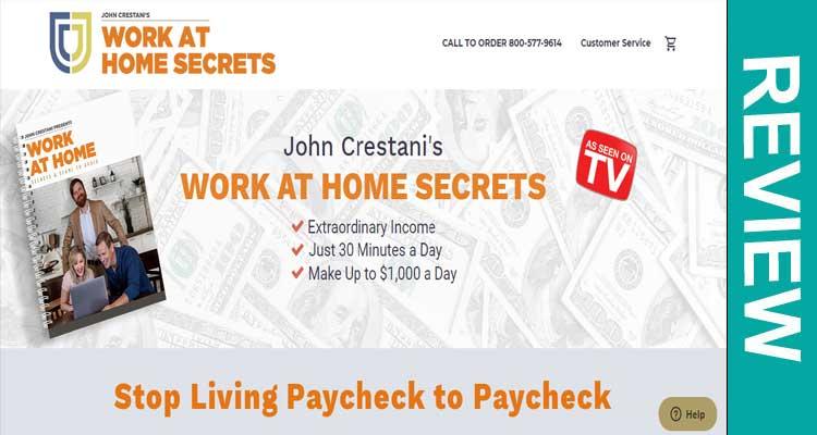 Is workathomesecret.com Scam