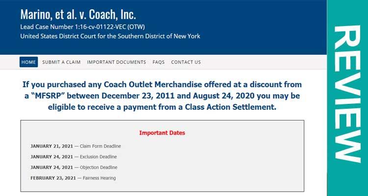 Marino Settlement Coach Review2020