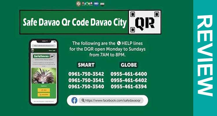 Safe Davao Qr Code Davao City 2020
