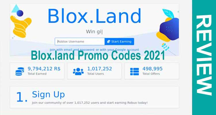 Blox.land Promo Codes 2021